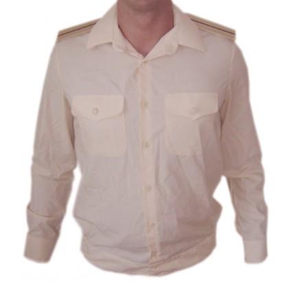 Sowjetische Marine-Flotte Officers cremige Hemd