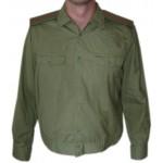Sovietico militare verde militare Ufficiale CAMICIA