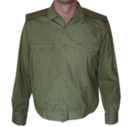 Soviet Army military GREEN Officer SHIRT