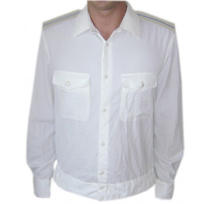 Soviet Army Officers military white PARADE SHIRT