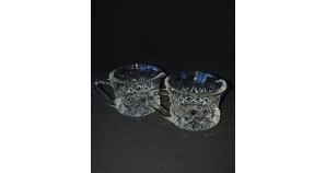 Czech crystal mug for different drinks