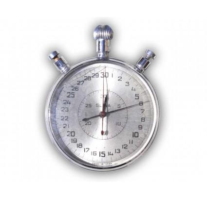 Vintage vecchio URSS russo cronometro meccanico split SLAVA