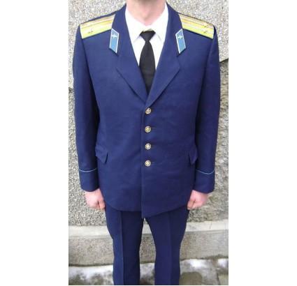 Officier de l armée de l air russe uniforme bleu