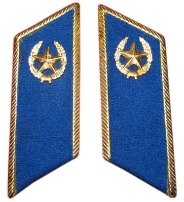 Soviet Military / Russian Army parade collar tabs - State Security Service