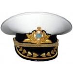 Ukraine Marine-Admiral weißen Parade Hut