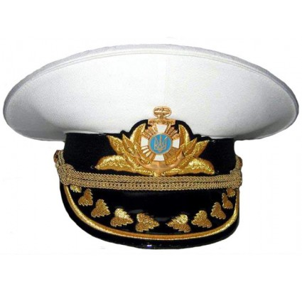 Ukraine Navy Admirals white parade hat