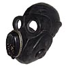 Russian military PBF Officer black Gas Mask