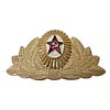Military USSR Parade Russian hat Insignia badge