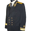 Russian Fleet Admirals uniform with bullion embroidery