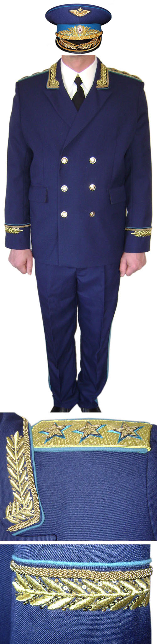 USSR Air Force Colonel-General parade uniform for sale - buy