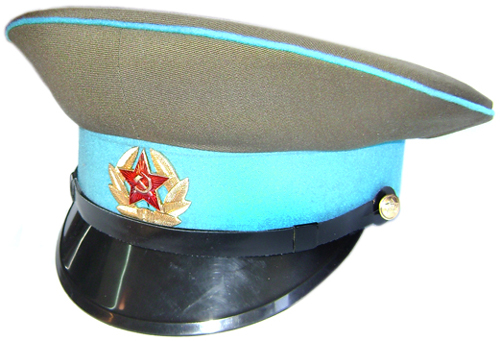 Soviet Airborne Troops Sergeant military Visor Hat for sale - buy online 330a1e50f2a