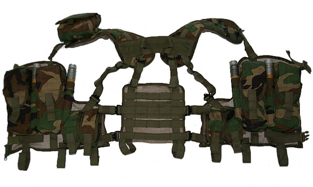 Russian LBV Tactical transport vest ALPHA olive