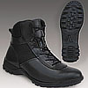 Tactical leather boots ARAVI BLACK