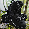 Tactical SUEDE leather boots ARAVI Black