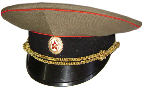 Soviet Army Officer visor cap with badge