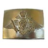 Golden officer's buckle for belt With eagle the Russian Army