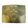 Russian Golden buckle for belt With eagle the Ministry of Internal Affairs