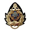 Ukraine Army Naval Officer insignia hat badge 2