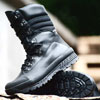 Genuine leather black winter boots BLACK HIGHLAND