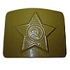 Russian military green buckle for belt