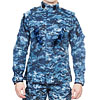 Blue Digital ACU tactical urban Spetsnaz uniform