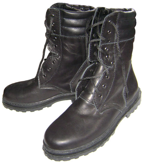 Special Leather BOOTS from Russian Army