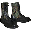 Digital camouflage Russian military boots