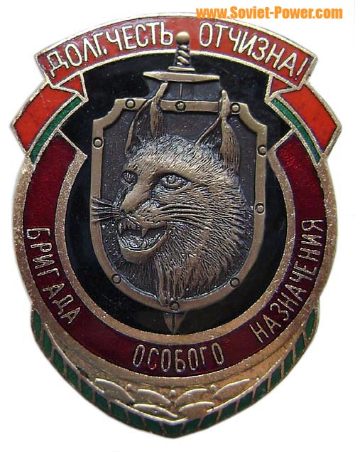 """Crew of Special Assignment"" Russian Spetsnaz badge"