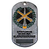 Russian Rocket Forces and Artillery dog tag