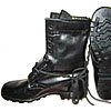 Russian Marines military black leather boots 42