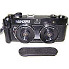 FED STEREO rare Russian camera with double USSR lens