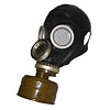 Special Russian BLACK Gas Mask GP-6