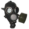 Russian protection latex gas mask GP-7V