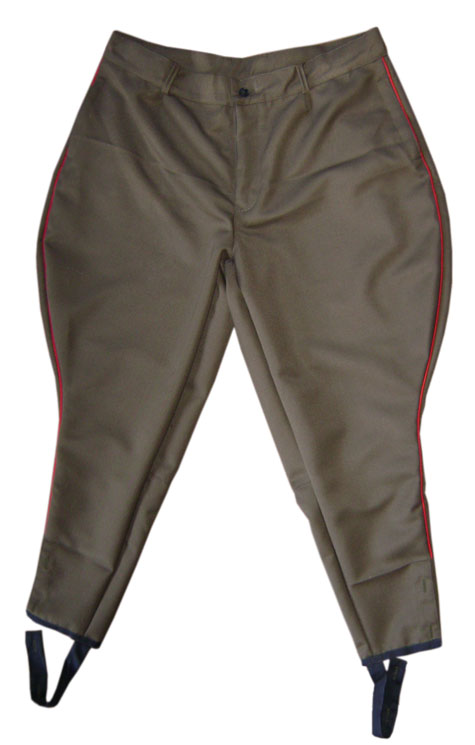 USSR Infantry riding breeches khaki Galife trousers