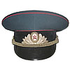 Artillery and Tank Troops Officers Russian visor hat