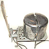 Russian Army professional electric hat stretcher / dryer