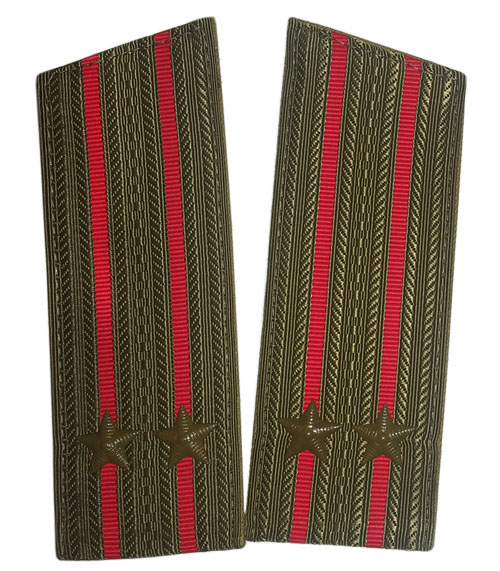 Soviet Army Infantry Officers field shoulder boards