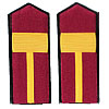 Russian Infantry Petty Officers shoulder boards