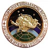 Russian SPACE BADGE First man in open space VOSKHOD-2