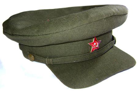 148c5193ffd RKKA Troops Khaki VISOR CAP Red Army hat for sale - buy online