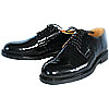 Russian Navy Captain parade lacquer boots black