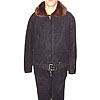 USSR Air Force PILOT suede leather Winter Uniform