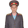 Russian Police Officer service uniform Militia