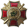 Russian Award Badge VETERAN OF AFGHANISTAN WAR Red Cros