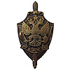 Soviet Badge KGB FSB State Security bronze eagle USSR