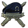 Russian SPETSNAZ BADGE SOLDIER OF LUCK black beret SWAT