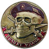 Russian SPETSNAZ badge SOLDIER OF LUCK Maroon Beret
