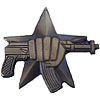 Russian Military SPETSNAZ badge with gun