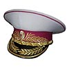Soviet / Russian MVD Generals Ministry of Military Justice parade white hat