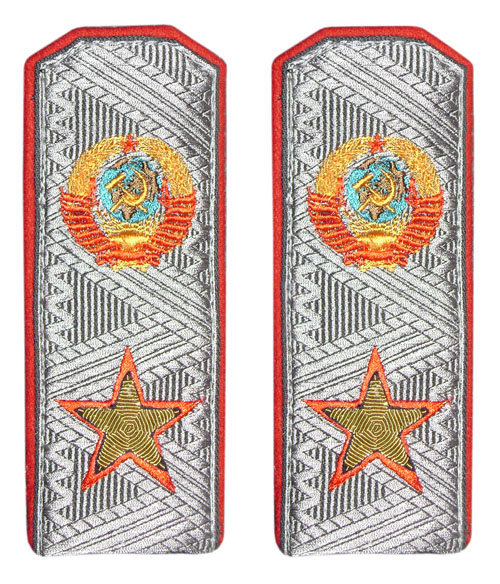 USSR Army Marshalls parade epaulettes for overcoat